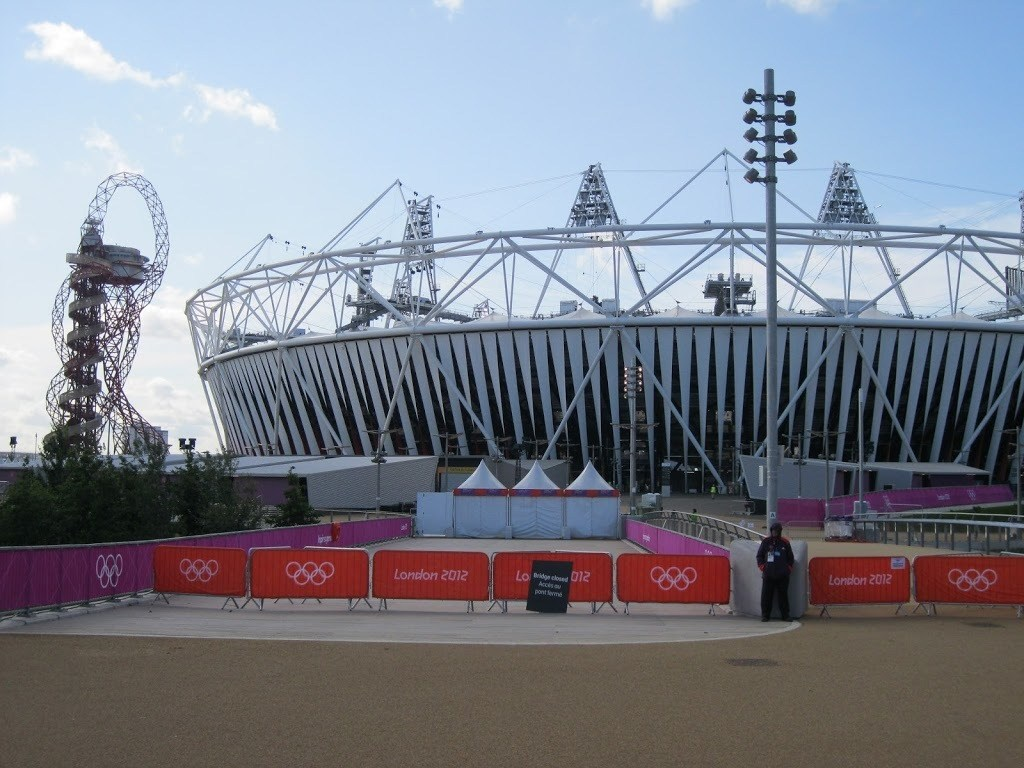 London 2012 Olympic Stadium and Orbit