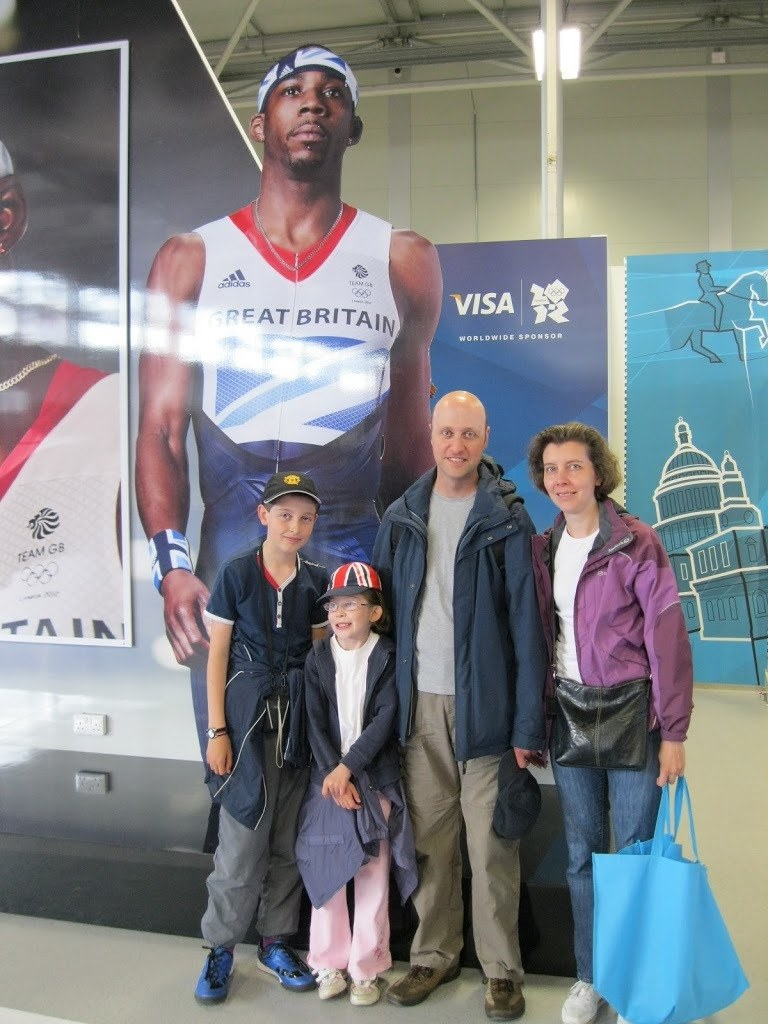 Us at the Olympics 2012